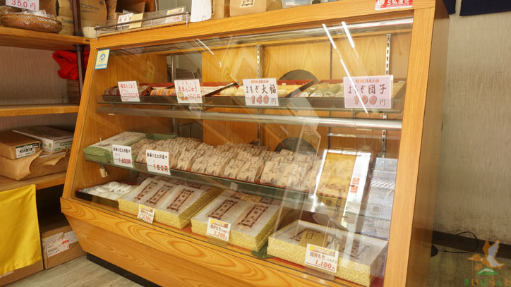 米原市醒井の老舗和菓子店、パンの販売も手掛ける「丁子屋製菓」