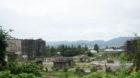米原市の伊吹山麓にある巨大工場廃墟は大阪セメント伊吹工場の跡地です
